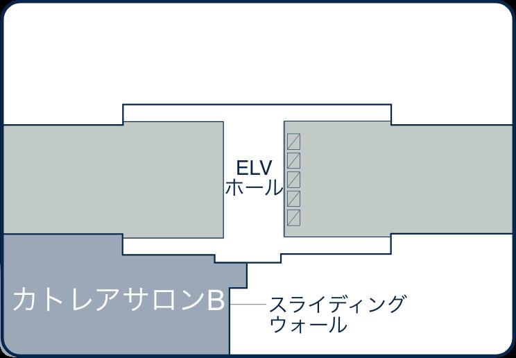 12F / カトレアサロン B 450㎡(約140坪)