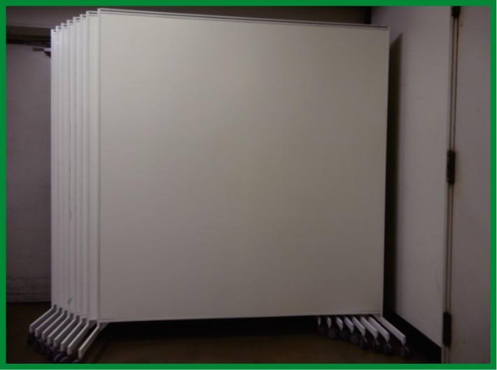 12F / 全室 1,960㎡(約600坪)SIZE : H 2,000 / W 1,800(キャスター含む)
