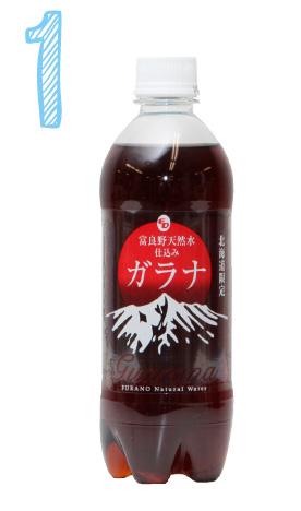 「富良野天然水仕込みガラナ」 ¥184(税込)