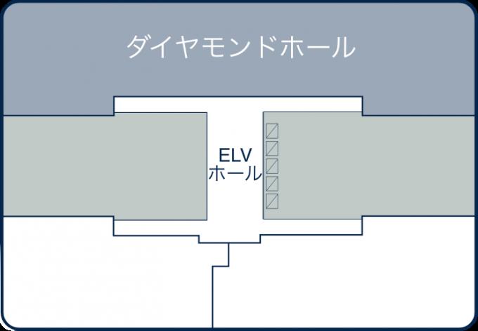 12F / ダイヤモンドホール 980㎡(約300坪)