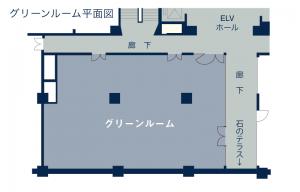 3F / グリーンルーム 200㎡(約60坪)